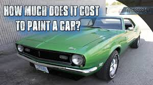 Crazy Paint Jobs How Much Does It Cost To Paint A Car Youtube