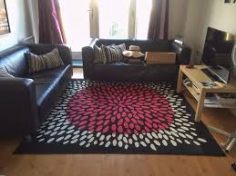 rug square large rug carpet ikea tradklover 200x200cm 5 7 x 5