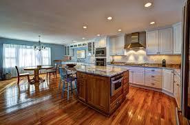 hardwood floors in kitchen. Plain Kitchen Large Kitchen With Island Table Wood Flooring And Hardwood Floors In Kitchen H