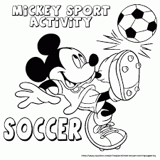 Sports Coloring Pages Disney Sports Coloring Pages €  Kids Coloring ...