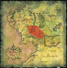 high resolution map of middle earth from lord of the rings