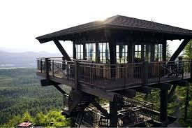 fire tower cabin plans house