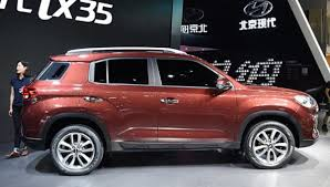 2018 hyundai ix35. exellent 2018 i posted pictures of the ix35 before it is a new compact suv from hyundai  only for chinese market at least so far looks much more square than any  in 2018 hyundai
