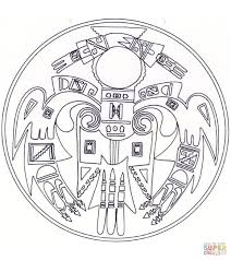 Small Picture Native American Mandala coloring page Free Printable Coloring Pages
