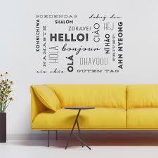 hello wall words wall e decal