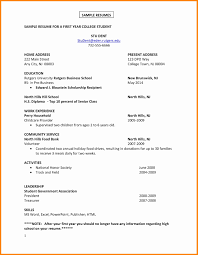 14 15 Resume Examples For Recent College Grads Nhprimarysource Com