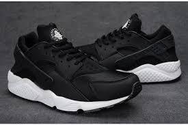 nike huarache black and white mens buy black black nike air