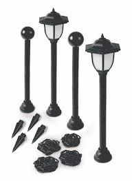 Ideaworks Round Solar Lights Ideaworks Solar Paw Print Border And Pathway Lights Multi