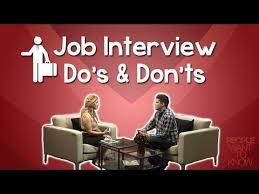 The Do S And Don Ts Of An Interview Job Interview Tips Dos And Donts For A Successful First Impression Jessicadomingueztv