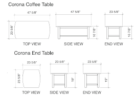 table dimensions awesome standard coffee table height coffee tables ideas top table inside end table dimensions table size seating