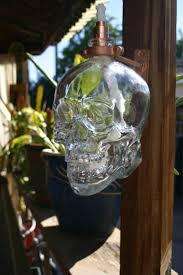 Crystal Head Vodka Tiki Torch / Oil Lamp including bottle and Hardware..  $49.99,