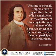 George Mason Anti Federalist Quotes. QuotesGram via Relatably.com