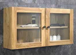 bathroom double door wall cabinet
