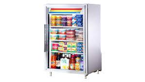 countertop freezer true s stainless steel glass door refrigerator merchandiser 7 cu ft