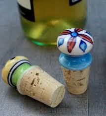 How To Make Decorative Wine Bottle Stoppers How to Make Decorative Wine Toppers Recipe Everyday dishes 6