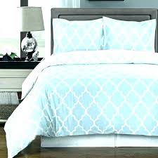 blue and white striped duvet cover ikea sets check set pale double light bedding
