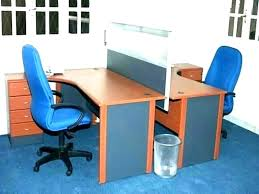 two desk office. 2 Person Office Desk Two Computer Home  With Depot Two Desk Office N