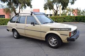 1981 Toyota Corolla Te72 Wagon Deluxe A / C Title Alloy Wheels