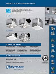 energy star qualified sp fans building value in air greenheck fan centrifugal ceiling and cabinet exhaust fans csp user manual page 24 24