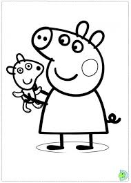 Printable Peppa Pig Coloring Pages 2432 Peppa Pig Coloring Pages