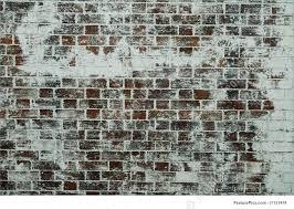 brick wall painted old brick wall red bricks white paint
