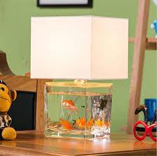 Delightful Hu0026M Retro E14 Desk Lamp Creative Fish Tank Modeling Glass Table Lamp For  Bar Cafe Restaurant