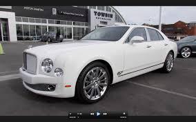 2013 Bentley Mulsanne Mulliner Start Up, Exhaust, and In Depth ...