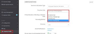 Guide Setting Up Different Payroll Proration Rules