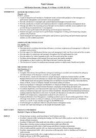 Hr Advisor Resume Sample HR Consultant Resume Samples Velvet Jobs 11