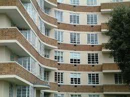 art deco furniture north london. art-deco concrete framed flats in highgate - c1930s art deco furniture north london