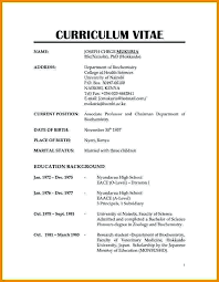 New Resume Format Simple 28 New Normal Job Resume Format PelaburemasperaK