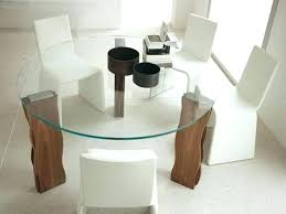 dining table glass top wood base glass dining room tables base glass modern round dining table