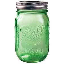 ball 16 oz mason jars. ball heritage green regular mouth pint jar 16 oz mason jars
