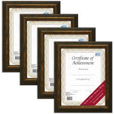 mainstays antique gold frame set of 4 multiple sizes available com
