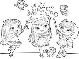 Nick Jr Coloring Pages Shimmer And Shine Discover All Of 10000