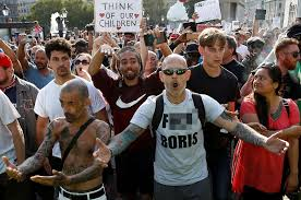 Protesters during the black lives matter rally in melbourne on 6 june. Protesters In Major Cities Target Coronavirus Measures As Global Death Toll Approaches 1 Million South China Morning Post