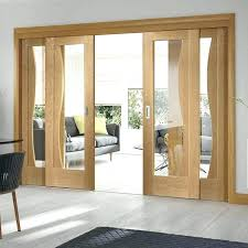 wooden sliding door design designs for living room with glass and idea 4
