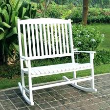 white wooden outdoor rocking chairs stupendous dazzling double chair wood porch canada