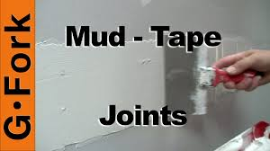 how to mud and tape drywall gf diy