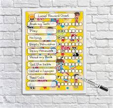 Kids Reward Chart Superheroes Kids Whiteboard Kids Reusable Behaviour Chart Chore Chart For Boys And Girls Dry Erase Planner Dry Wipeboard