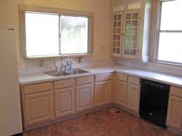 Painting Over Oak Kitchen Cabinets Oak Kitchen Cabinet Makeover Buslineus