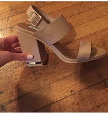 shoes steve madden heels chunky heels sandals gold