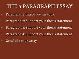 paragraph essay by kzamarripa the 5 paragraph essay
