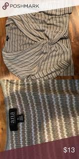 Ana twist front sweater   Twist front, Sweaters, White stripe