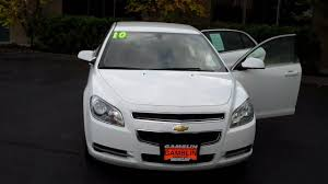 2010 Chevrolet Malibu White - Art Gamblin Motors - Tim Smitty ...