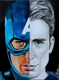 Steve Rogers Chris Evans Comics Cool Usa Patriot Marvel The