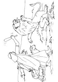 David And Goliath Coloring Pages And Coloring Pages Printable And