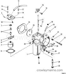 wrg 2199 wiring diagram for mariner outboard 1980 mariner outboard 115 elpt 7115620 carburetor section