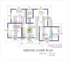 kerala house plan for 991 sq.ft house low cost house in kerala with plan & photos 991 sq ft khp on best kerala house plans