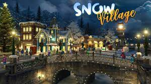 Snow Village 3D Live Wallpaper and ...